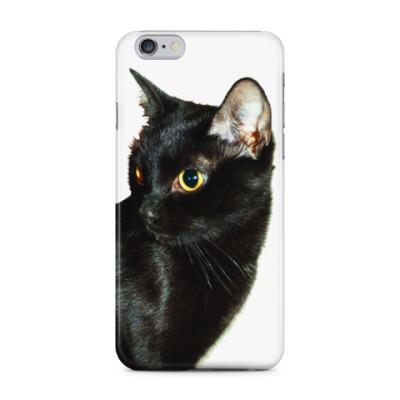 Чехол для iPhone 6 Plus Чёрная кошка