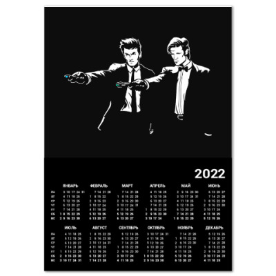 Календарь Who Fiction
