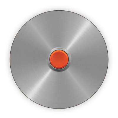 Костер (подставка под кружку) Красная кнопка