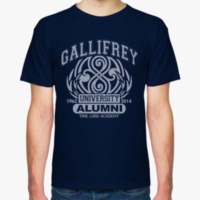 Футболка Gallifrey University Alumni