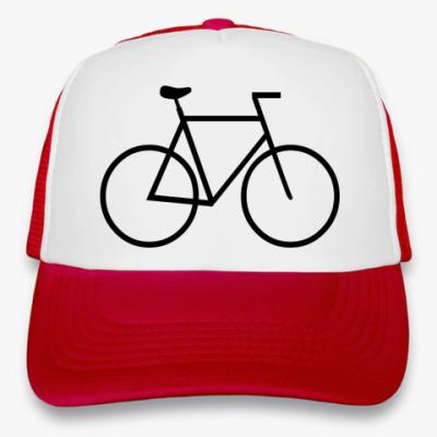 Кепка-тракер велосипед