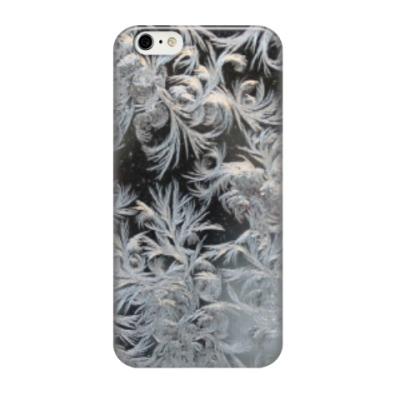 Чехол для iPhone 6/6s морозный узор