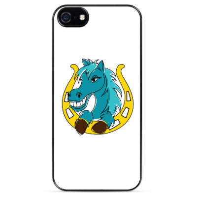 Чехол для iPhone Лошадь и подкова