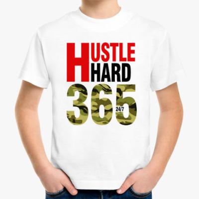 Детская футболка Hustle HARD 365