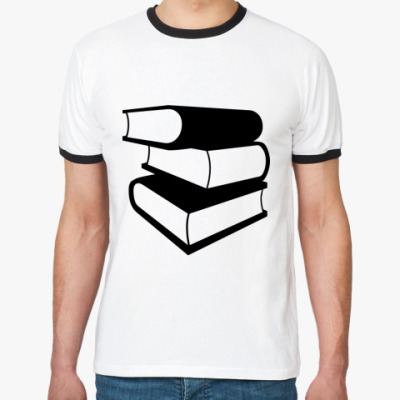 Футболка Ringer-T Люблю читать