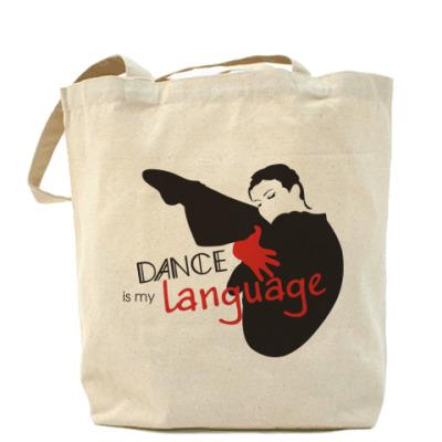 Сумка Dance is my language