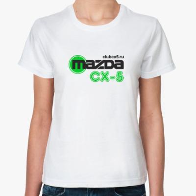 Классическая футболка Женская футболка Fruit of the Loom (белая)