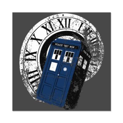 Наклейка (стикер) TARDIS