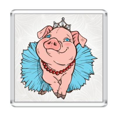 Магнит Свинка