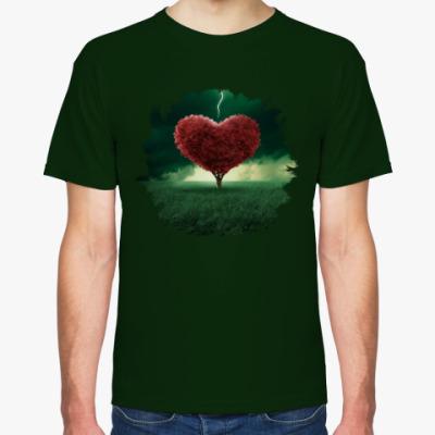 Футболка Saint Valentine's Day heart