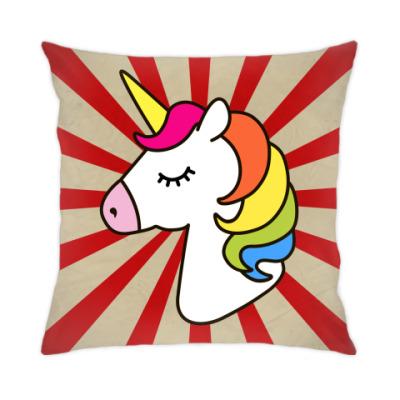 Подушка Dreaming Unicorn