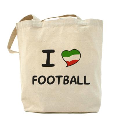 Сумка Я люблю итальянский футбол