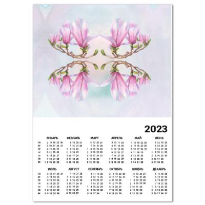 Календарь Магнолия
