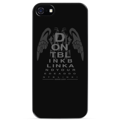 Чехол для iPhone Don't Blink