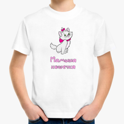 Детская футболка Мамина Кошечка