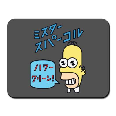 Коврик для мыши Симпсоны: Японский Гомер