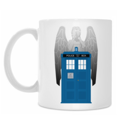 Кружка Weeping Angel Doctor Who
