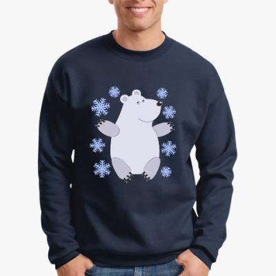 Свитшот Зимний медведь