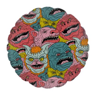 Подушка Psychodelic Monster's