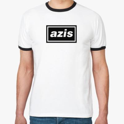 Футболка Ringer-T Oasis x Azis