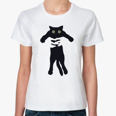 Классическая футболка Little Cat in Hands