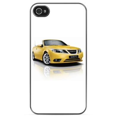 Чехол для iPhone SAAB Yellow