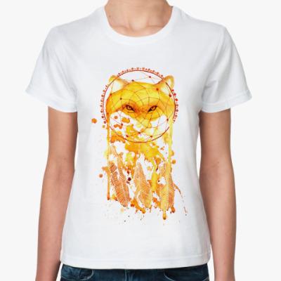 Классическая футболка Лисий ловец