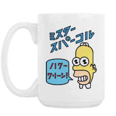 Кружка Симпсоны: Японский Гомер