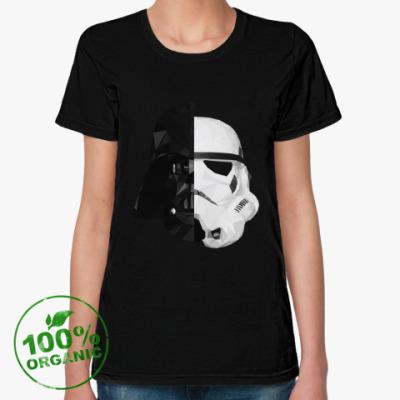 Женская футболка из органик-хлопка Star Wars: Вейдер и Штурмовик