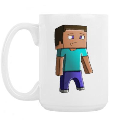Кружка Minecraft Steve