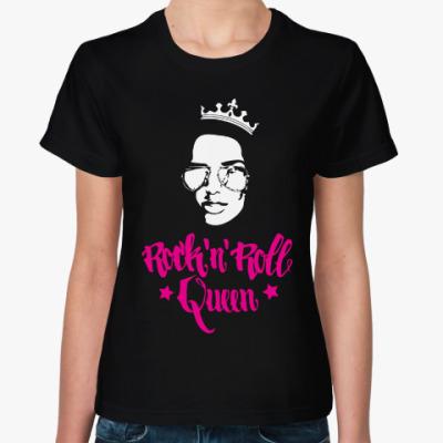 Женская футболка Rock'nRoll Queen