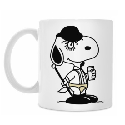 Snoopy Clockwork Orange