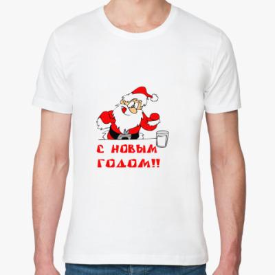 Футболка из органик-хлопка С Новым годом!