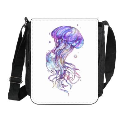 Сумка на плечо (мини-планшет) Медуза