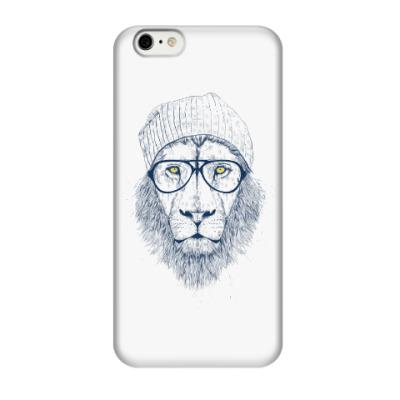 Чехол для iPhone 6/6s Крутой лев хипстер
