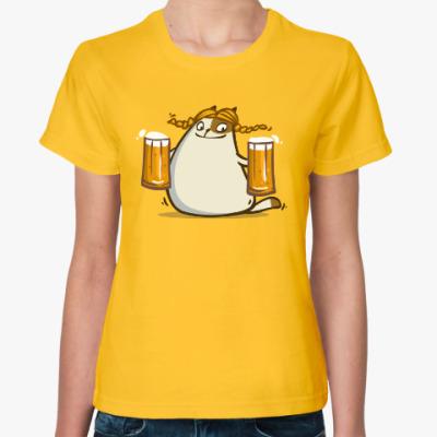 Женская футболка Пятничный Котик №22
