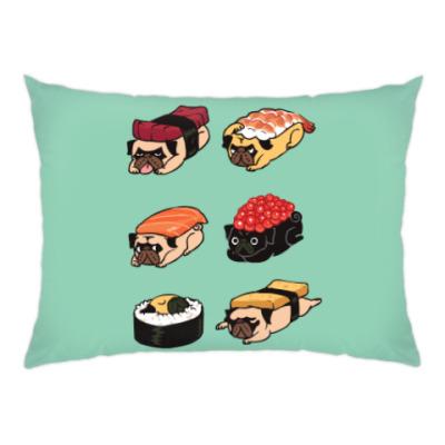 Подушка Суши мопс