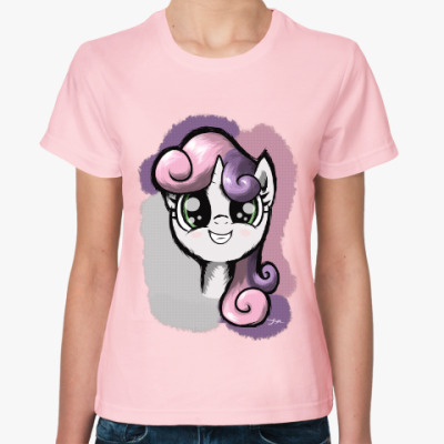 Женская футболка маленький пони