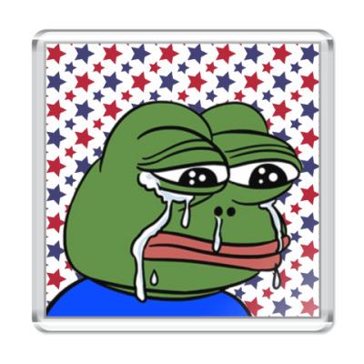 Магнит Crying Pepe