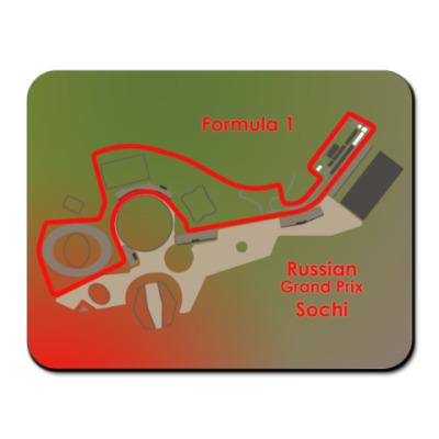 Коврик для мыши Формула 1 Сочи