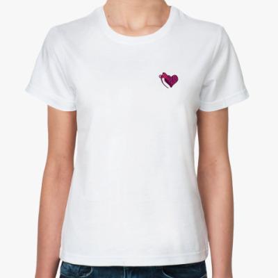 Классическая футболка Запал в груди