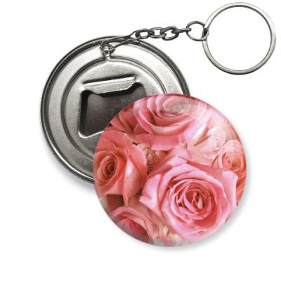Брелок-открывашка Розы