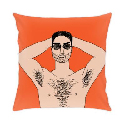 Подушка Мужчина с голым торсом