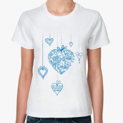Классическая футболка heart