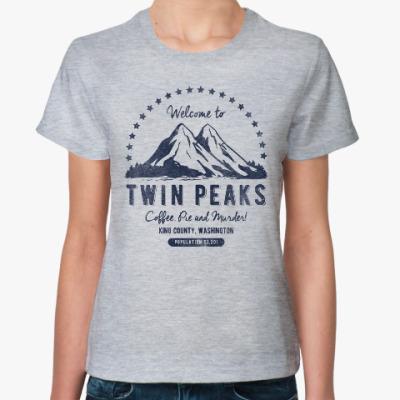 Женская футболка Твин Пикс