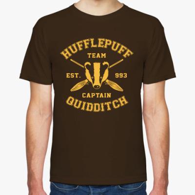 Футболка Hufflepuff Quidditch Team