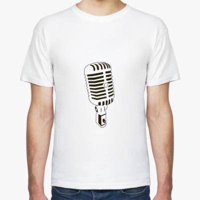 Футболка Music / Microphone