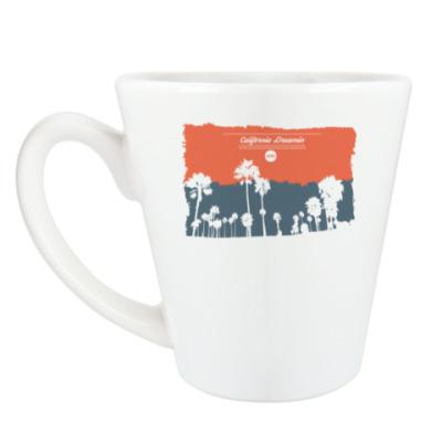 Чашка Латте Город в Калифрнии (USA)