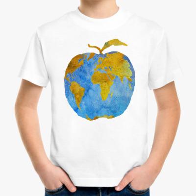 Детская футболка Apple Earth