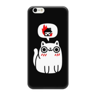 Чехол для iPhone 6/6s Котик злой